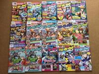 Yu-Gi-Oh World Magazine Issues 40-61 (Some gaps)