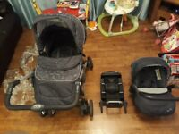 Silver Cross Travel System/car seat/ Isofix