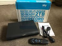 Sky+ HD Box 2TB (Remote, Box, HDMI, Power lead)