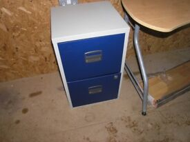 Two drawer filing cabinet in excellent condition.