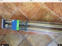 New Curtain poles 360cm-x2 New £22.00each