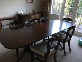 Vintage 8-10 seater dining table