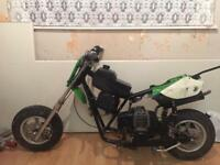 Mini pit bike project for sale