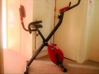 Exercise In Comfort. Great exercise bike if you want to trim a little before Christmas at home.