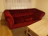 chesterfield a sofa and two armchairs