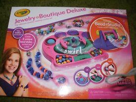 Girls tattoo & jewellery boutique (Arts & Craft sets) - Unopened