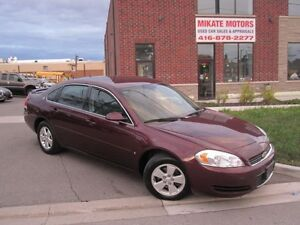 Nice 2007 Chevrolet Impala LT Certified & Emissioned $2,999.00