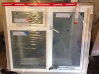 Brand new wooden double glazed window