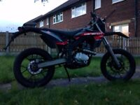 Rieju mrt supermoto 125cc bike motorcycle same engine as Yamaha 125s