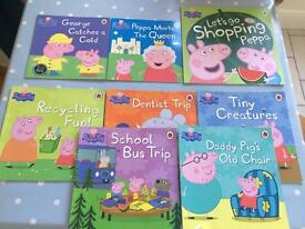 Peppa Pig Books x 8