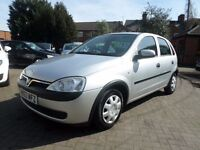 Vauxhall Corsa 1.0 i 12v Club 5dr 03 REG (2003), SILVER, HPI CLEAR, IDEAL FIRST CAR, BARGAIN