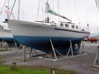 Ferro Cement Sailing Boat - Hartley 33' Queenslander