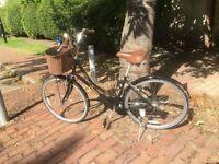 Dawes Vintage style bike with basket / Pashley style