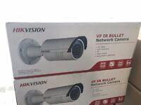 Hikvision 4MP Varifocal Bullet Camera IP CCTV HD Camera - DS-2CD2642FWD-I