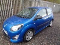 RENAULT TWINGO DYNAMIQUE 2008 1.2 PETROL 3 DOOR BLUE 56,000 MILES MOT 02/03/19 NO ADVISORIES