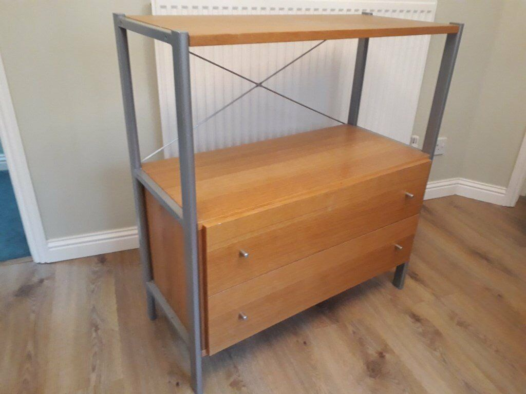 Ikea Light oak effect chest of drawers + TV stand