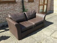Leather Sofa Bed for Sale in good condition