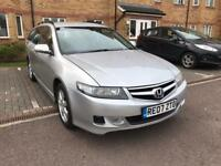 2007 Honda Accord 2.2L Diesel, 5 Door Estate, 2 keys, Long MOT