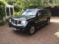 2007 Nissan Navara Outlaw 2.5dci d40