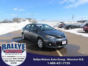 2014 Toyota Corolla S! Back-Up! Heated! ONLY 49K! Save!