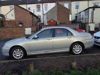 full mot rover 75. 1.8 petrol t. club classic manual. 82266 miles