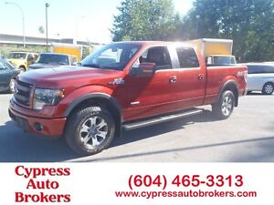 2014 Ford F-150 FX4 (GPS, Leather & Sunroof)
