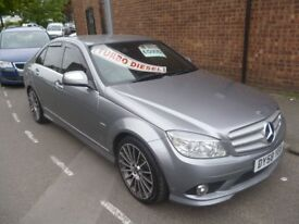 Mercedes C220 Sport CDI Auto,4 door saloon,FSH,leather interior,AMG Alloys,Sat Nav,All the extras,