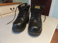 Hard Edge Steel Toe Caped Safety Boots