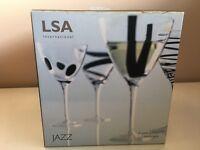 Wine Glasses, LSA set of 4