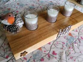 Candle table displays
