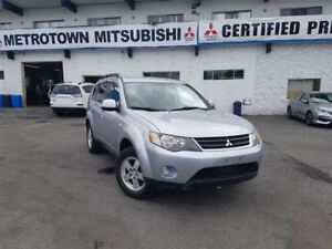 2008 Mitsubishi Outlander LS V6; Local & No accidents!