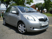 *** Toyota Yaris 1.4 D-4D T3 3dr +LOW MILEAGE ONLY COVERD 69K+ 3 Months WARRANTY+30 TAX PER YEAR****