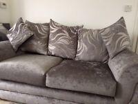 Grey sofa BRAND NEW