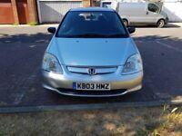 2003 Honda Civic 1.4 Imagine @07445775115 Low+Mileage+Cheap+Insurance+Tax+New+Gear+Box+New+Clutch