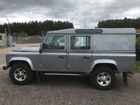 Landrover Defender 110 Utility Wagon xs 2012 Half Leather 51500 Orkney Grey