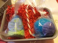 Pamper boutique bath bombs. These are all homemade in somerset