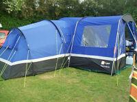 Zenobia 6 Tent + Porch + Carpet + Footprint + Loads of extras