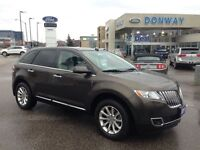 2011 Lincoln MKX *NAVIGATION*LEATHER*SUNROOF*LOW KM!*