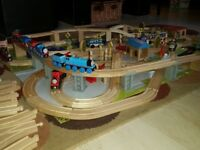 Massive toy wooden Brio ELC Train set with Thomas The tank engine!