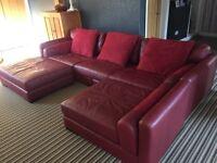 Beautiful Italian leather suite