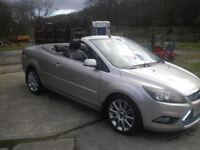 2009 Ford Focus CC3 2.0 tdci,62k.mls,FSH,Wind deflector,Towbar,daytime running lights,mats,mudflaps.