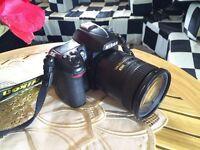 Used Nikon D7000 Digital SLR Camera With 18-200mm F3.5-5.6GB IF-ED AF-S VR DX