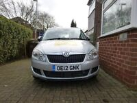 2012 Skoda Fabia Estate, 1.6tdi SE, only 29k miles, new manchester private hire taxi plated