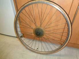 Araya 700c hybrid/road bike rear wheel