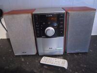 SONY CMT-EH20DAB MINI HIFI STEREO CD CASSETTE RADIO DAB DIGITAL MP3 PLAYER AUX