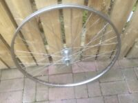 NORMANDY HUB VINTAGE FRONT WHEEL FOR SALE.