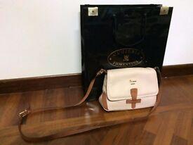 Bag in Hammared Calf (colour Rose)