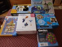 Collection of 6 indoor/outdoor kids toys/games for £15