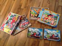 Puzzles- 2 floor puzzles (24 piece) and one 35 piece smaller puzzle