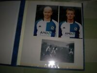 COLLECTION OF AUTOGRAPHS, POSTCARDS ,PICTURES FOOTBALL